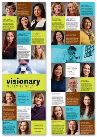 Visionary Women In STEM (Laminated Poster Set)