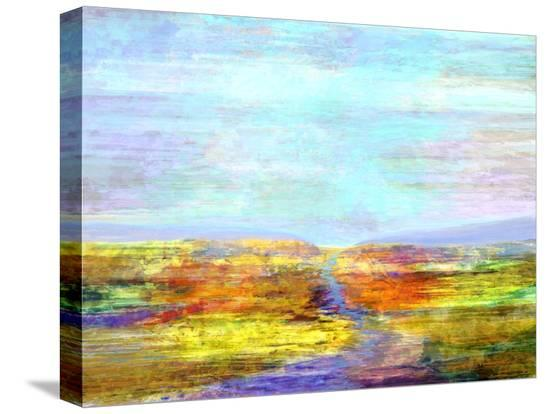 Visions II-Michael Tienhaara-Stretched Canvas