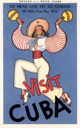 Visit Cuba, Maracas Lady