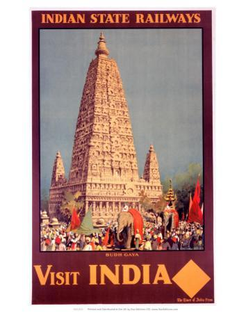 Visit India, Indian State Railways, c.1930s