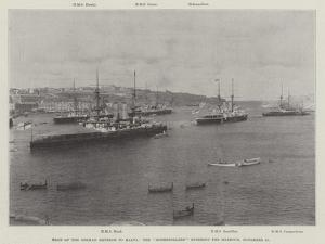Visit of the German Emperor to Malta, the Hohenzollern Entering the Harbour, 15 November