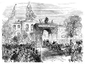 Visit of the Queen and Prince Albert to the Linen Hall, Belfast, C1850S