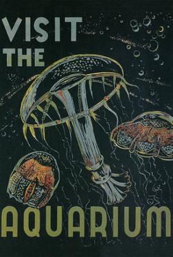 Visit the Aquarium Poster