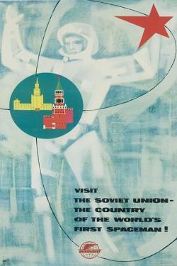 Visit the Soviet Union Poster