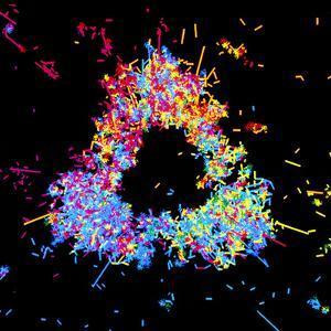 Visualisation of Quark Structure of Proton