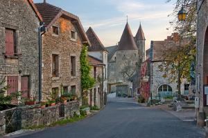 Old Medieval Looking European Street by vitalytitov