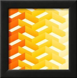 Retro Zigzag Pattern by vitavalka