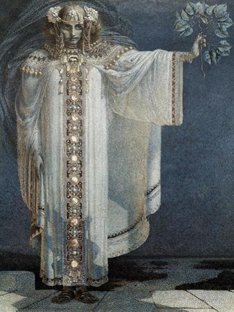 The Prophetess Libuse by Vitezlav Karel Masek