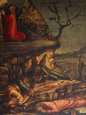 Jesus in the Garden of Gethsemane or Prayer in the Garden, 1502-1507 by Vittore Carpaccio