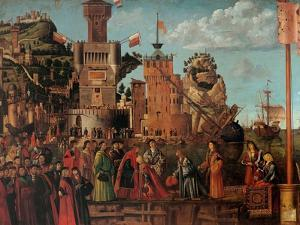 Legend of St. Ursula. Meeting and Departure of the Betrothed by Vittore Carpaccio