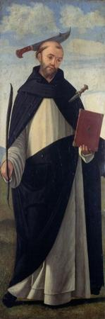 Saint Peter Martyr by Vittore Carpaccio