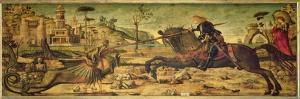 St. George Killing the Dragon, 1502-07 by Vittore Carpaccio