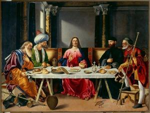 Supper at Emmaus by Vittore Carpaccio