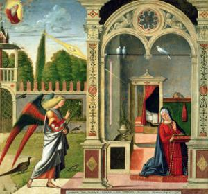 The Annunciation by Vittore Carpaccio