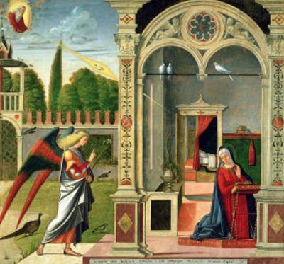 The Annunciation by Vittore Carpaccio