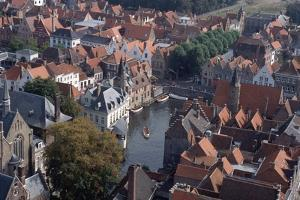 Canal in Bruges by Vittoriano Rastelli