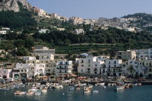 Capri Harbor by Vittoriano Rastelli