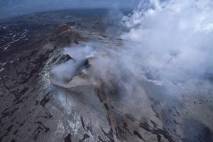 Fumes from Mount Etna by Vittoriano Rastelli