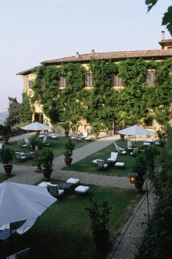 Gardens of Hotel in Tuscany by Vittoriano Rastelli