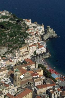 Italian Coastal Town by Vittoriano Rastelli