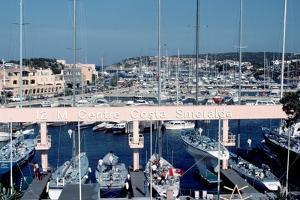 Marina of Porto Cervo by Vittoriano Rastelli