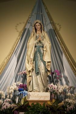 Medjugorje Vergin Mary by Vittoriano Rastelli