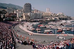 Monaco Grand Prix by Vittoriano Rastelli