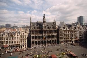 The Grand' Place in Brussels by Vittoriano Rastelli