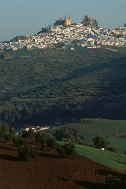 View of Olvera, Spain by Vittoriano Rastelli