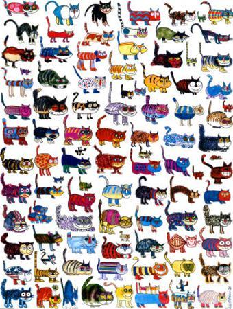 100 Cats and a Mouse by Vittorio