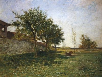 Countryside Near Gattinara, 1867