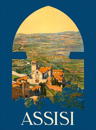 Assisi Italy - Basilica di San Francesco Church