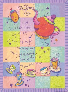 Rhyme 1 Teapot by Viv Eisner