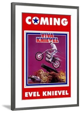 Viva Knievel--Framed Poster