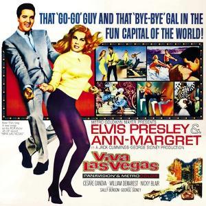Viva Las Vegas, Elvis Presley, Ann-Margret, 1964