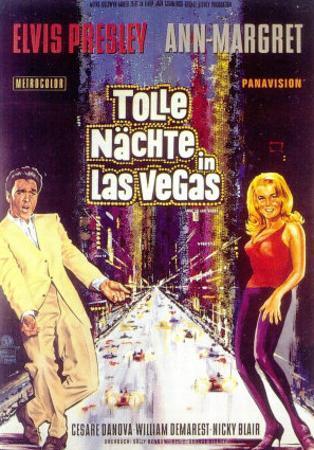 Viva Las Vegas, German Movie Poster, 1964