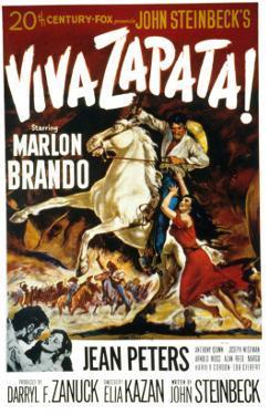 Viva Zapata!, Marlon Brando, Jean Peters, 1952