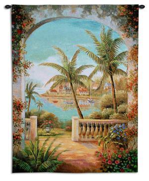 Tropical Terrace II by Vivian Flasch