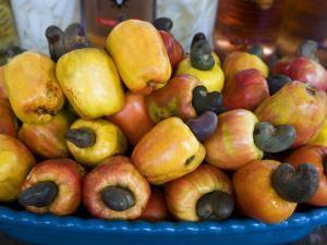 Cashew Fruit by Viviane Ponti
