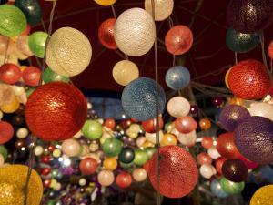 Colourful Fairy Lights Sold at Chiang Mai Night Bazaar by Viviane Ponti