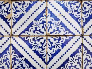 Detail of Portuguese Colonial Tiles by Viviane Ponti