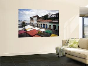 Old Buildings and Anil River from Casa Do Maranhao Museum by Viviane Ponti