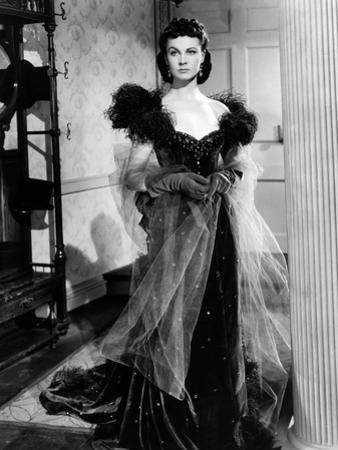 Vivien Leigh, Gone with the Wind, directed by Victor Fleming, 1939 (b/w photo)