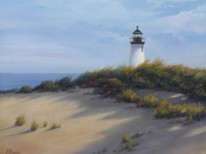 Lighthouse on the Shore by Vivien Rhyan