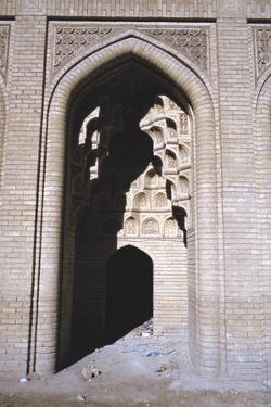 Arch in Sunlight, Abbasid Palace, Baghdad, Iraq, 1977 by Vivienne Sharp