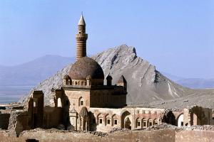 Ishak Pasha Palace, Dogubeyazit, Turkey by Vivienne Sharp