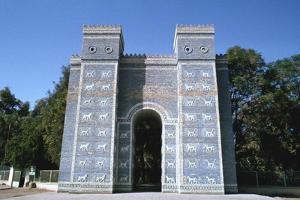Ishtar Gate, Babylon, Iraq by Vivienne Sharp