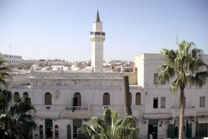 Karamanli Mosque, Tripoli, Libya by Vivienne Sharp