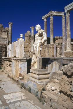 Leptis Magna, Libya, Circa 3rd Century Ad by Vivienne Sharp