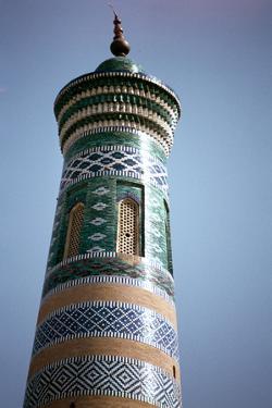 Mosque, Khiva, Uzbekistan by Vivienne Sharp